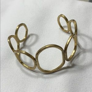 Chloe and Isabel Gold Cuff Bracelet